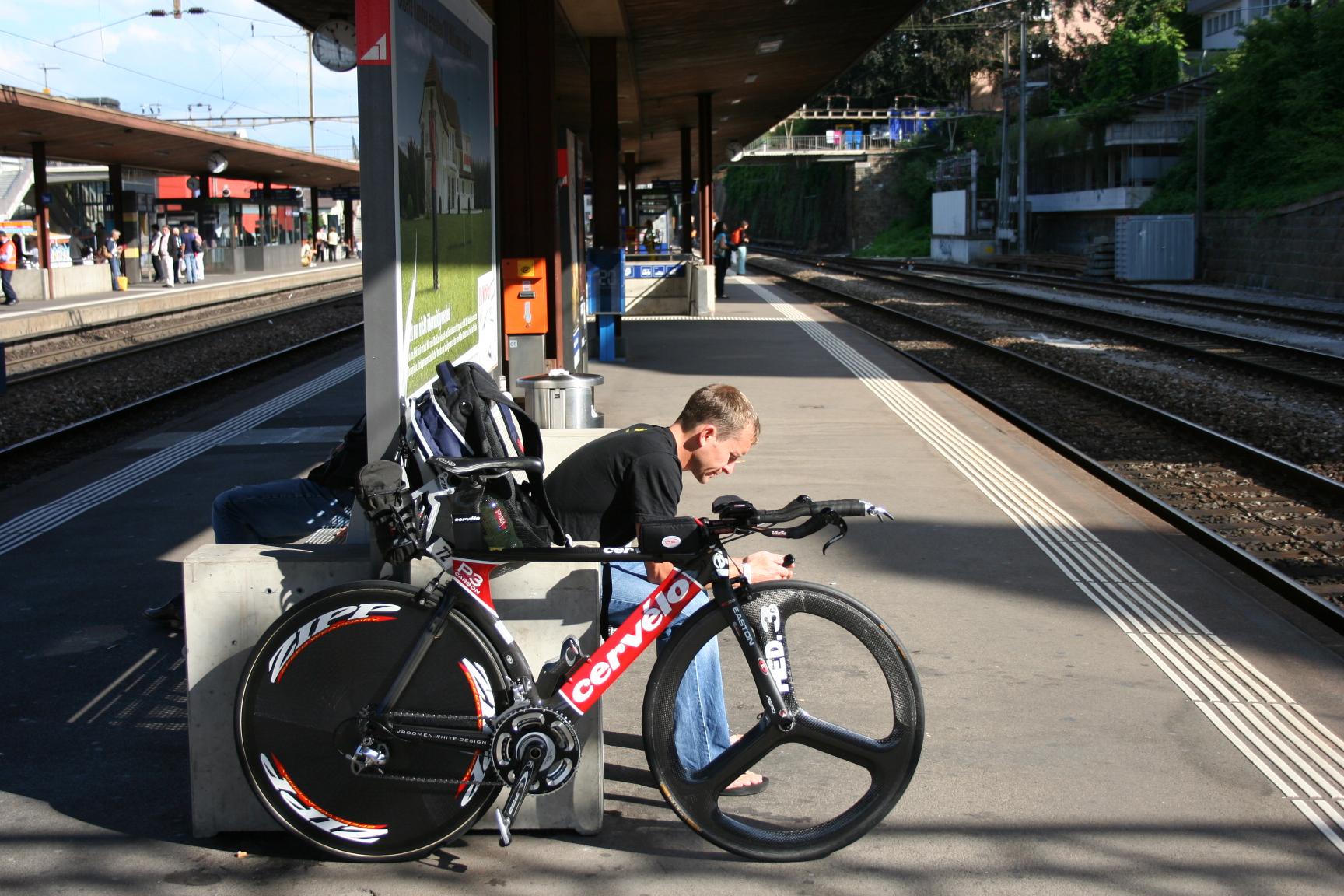 Train to IM CH bike drop