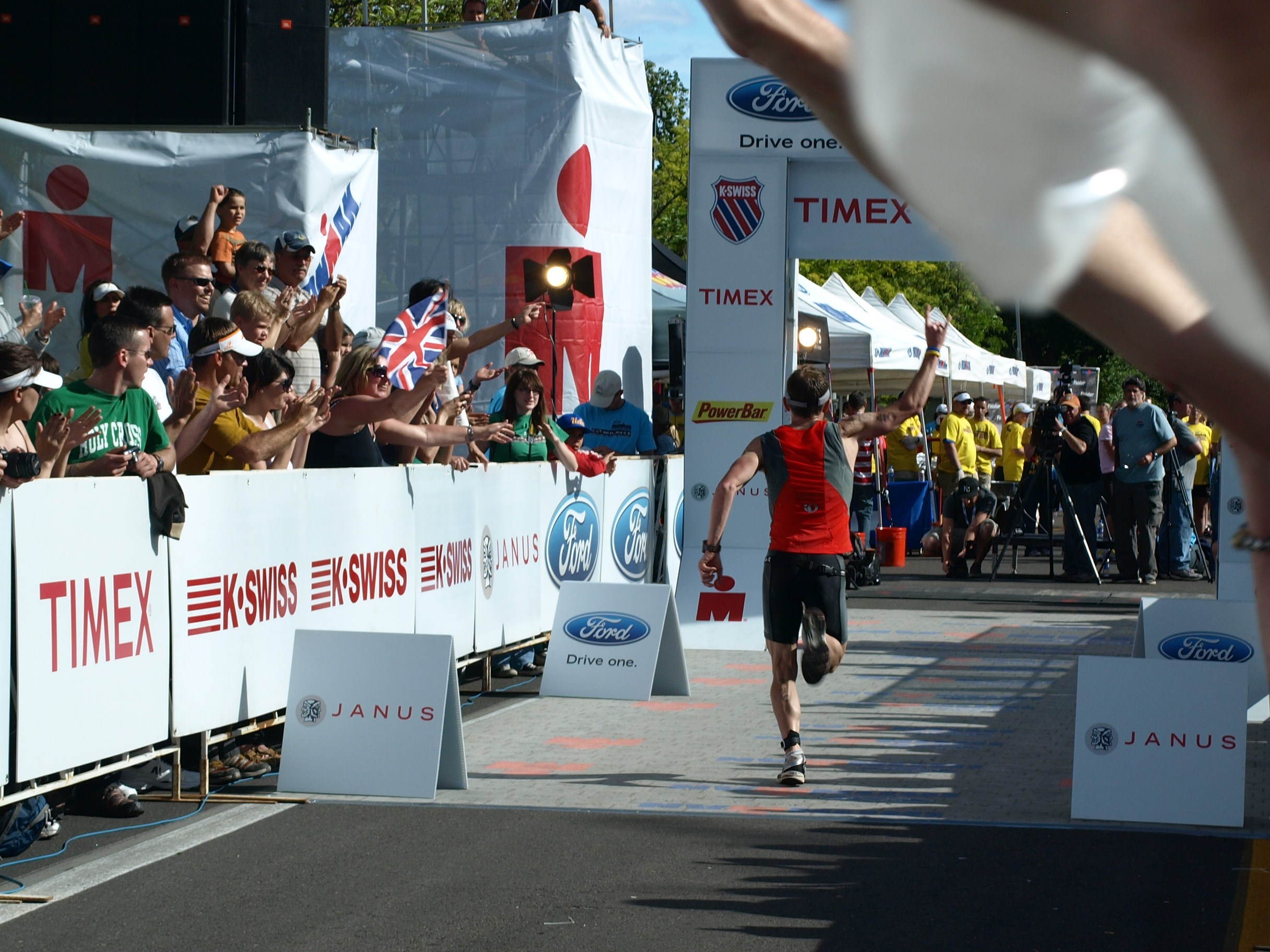 Finish at IM SG 2010